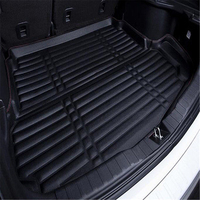 SJ 3D Car Rear Trunk Boot Mat Liner Cargo Floor Tray Carpet Mud Pad Protector Accessories For KIA Sportage R 2018 2019
