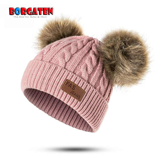 12 to 24m Toddler Pink Pom Pom Hat Baby Crochet Hat Hot Pink Baby Hat Pom Pom Beanie Hot Pink Toddler Photo Prop Baby Gift