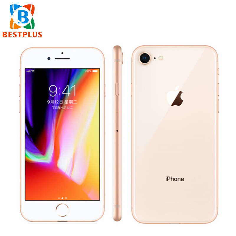 Original Sprint Version Apple iPhone 8 A1863 2GB RAM 64GB ROM LTE Mobile Phone 4.7 Fingerprint iOS 11NFC 1821mAh CellPhone image