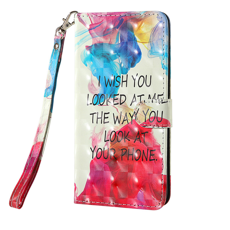 For LG K61 Case Fashion Colorful PU Leather Cover Flip Case For LG K41S K50S K50 S Q70 K30 K40 2019 Phone Cases For LG Stylo 5