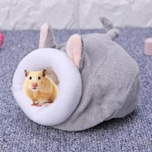 Pet-Supplies House Hamster Nest Kennels Hedgehog Animal-Beds Chicken Cave Small Warm