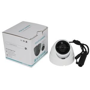 Image 4 - UniLook 5MP 미니 돔 POE IP 카메라 내장 마이크 야외 보안 CCTV 카메라 IR 30m IP66 Hivision 호환 ONVIF H.265