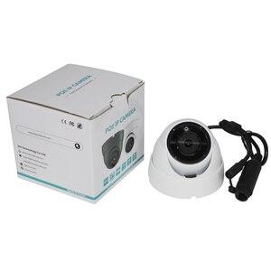 Image 4 - UniLook 5MP мини купольная POE ip камера, встроенный микрофон, наружная камера видеонаблюдения IR 30m IP66 Hivision, совместимая с ONVIF H.265
