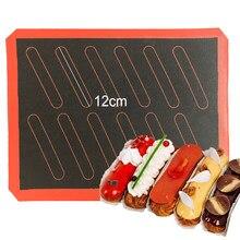 Ferramenta assada antiaderente da almofada do forro da folha do forno do cozimento do silicone do produto comestível para o biscoito/pão/macaron/biscoito/eclair/sopro