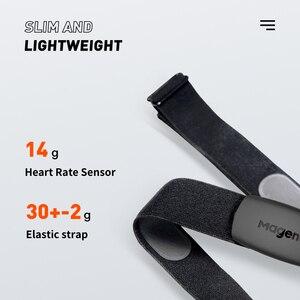 Image 4 - Magene Nuevo Modelo H64, con Bluetooth 4,0 y Sensor de ritmo cardíaco ANT +, Compatible con GARMIN, e IGPSPORT Bryton, ordenador para correr y bicicleta