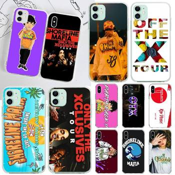 YJZFDYRM Shoreline Mafia OhGeesy Still OTX Tour Black Phone Case for iPhone 11 pro XS MAX 8 7 6 6S Plus X 5S SE 2020 XR cover image