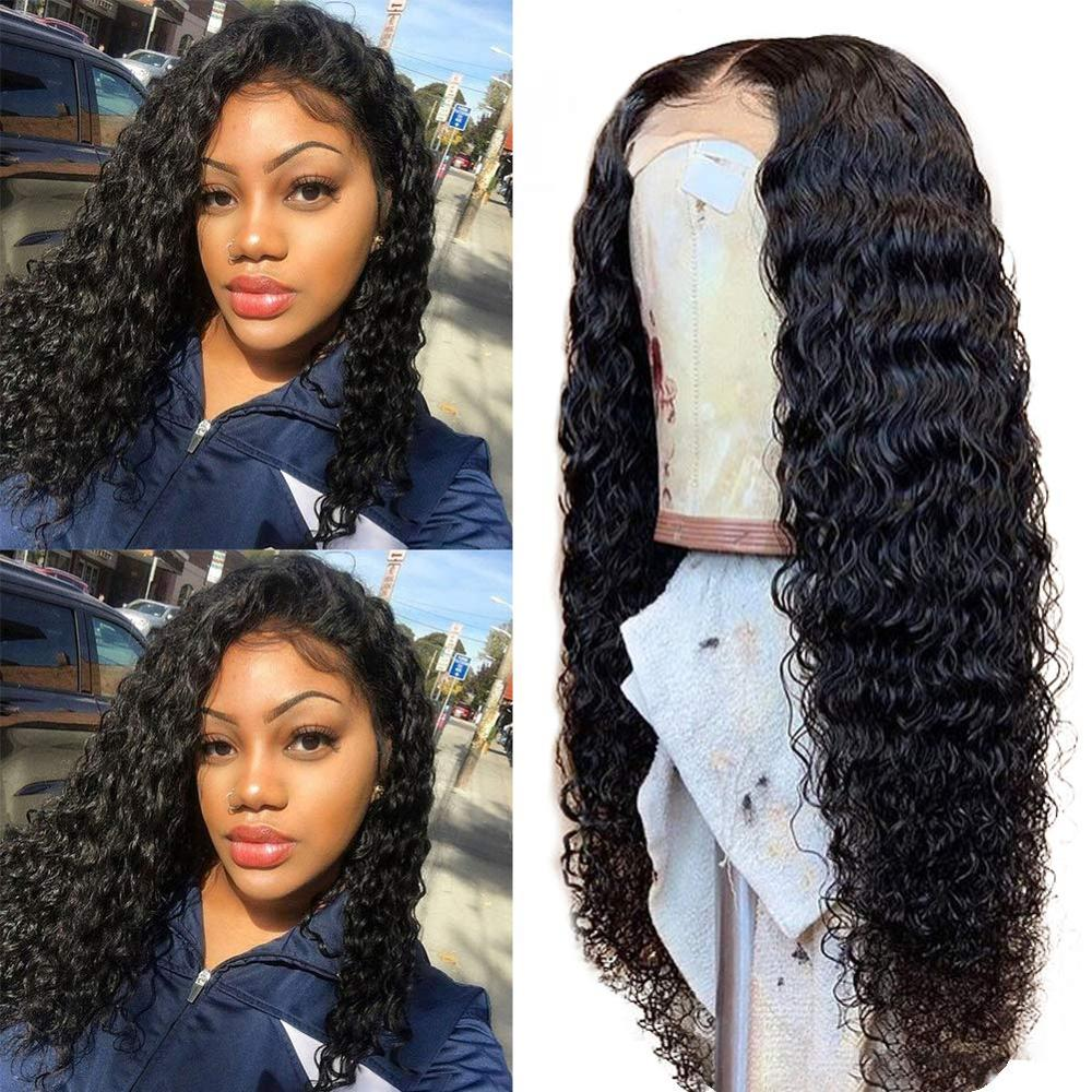 """Ultimate Deal""""Human-Hair-Wigs Blonde Curly Lace-Front Pre-Plucked Ombre Natural Peruvian Colored Loose"""