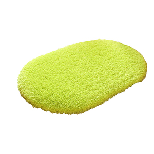 Image 1 - Alfombras de baño antideslizantes de 40x60cm, Alfombra de lana Coral, absorción de agua