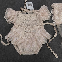 Lace Newborn Baby Clothing Summer Fashion Infant Girls Rompers Cute Romper Playsuit Jumpsuit Outfits Set