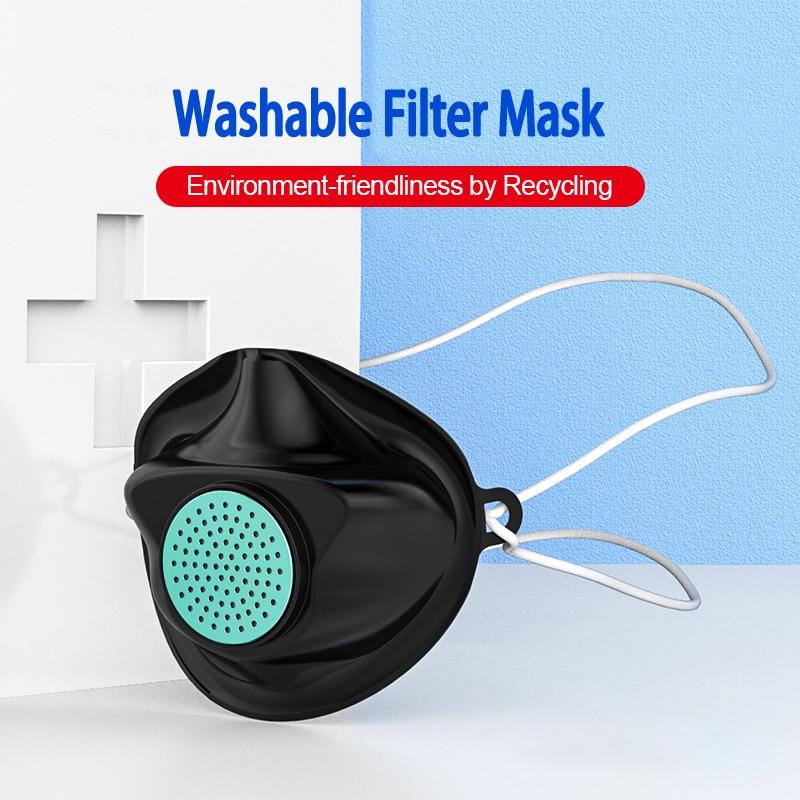 10PCS Anti Gas Dust Facemask Washable Masks Mascherine Mascara Mascarillas De Proteccion Reusable Face Protective Filter Mask