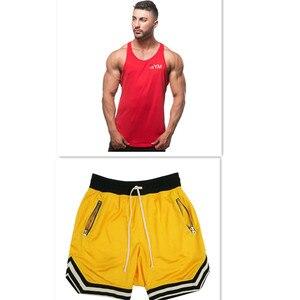 Image 4 - 2019 Summer New Mens Shorts Casual Suits Sportswear Mens Clothing Man Sets Pants Male sweatshirt Men Brand Clothing