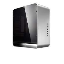 JONSBO UMX1 PLUS чехол для компьютера, алюминиевый HTPC, серебристый, через ITX шасси