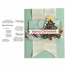 Clear Rubber Stamps Scrapbooking Merry Christmas Letter Sheet Silicone Seals Craft Stencil Album Stamps Paper Card Make Template merry christmas tree sticker painting stencils for diy scrapbooking stamps home decor paper card template decoration album craft