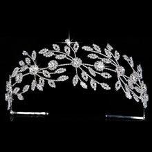 Женский головной убор и корона элегантный дизайн листьев из