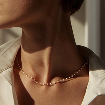 15 Style proste perły korale Choker naszyjnik kryształowy frędzel z liściem naszyjnik dla kobiet moda seks biżuteria Prom akcesoria tanie i dobre opinie FOMALHAUT Ze stopu cynku Kobiety Chokers naszyjniki CN (pochodzenie) TRENDY Link łańcucha Pearl Idealnie okrągłe Symulowane perłowej