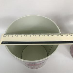 Image 4 - 10Pcs/Lot D12.5xH14CM Metal Vase Iron Planter Tin Boxes Wedding Centerpieces Home Decor