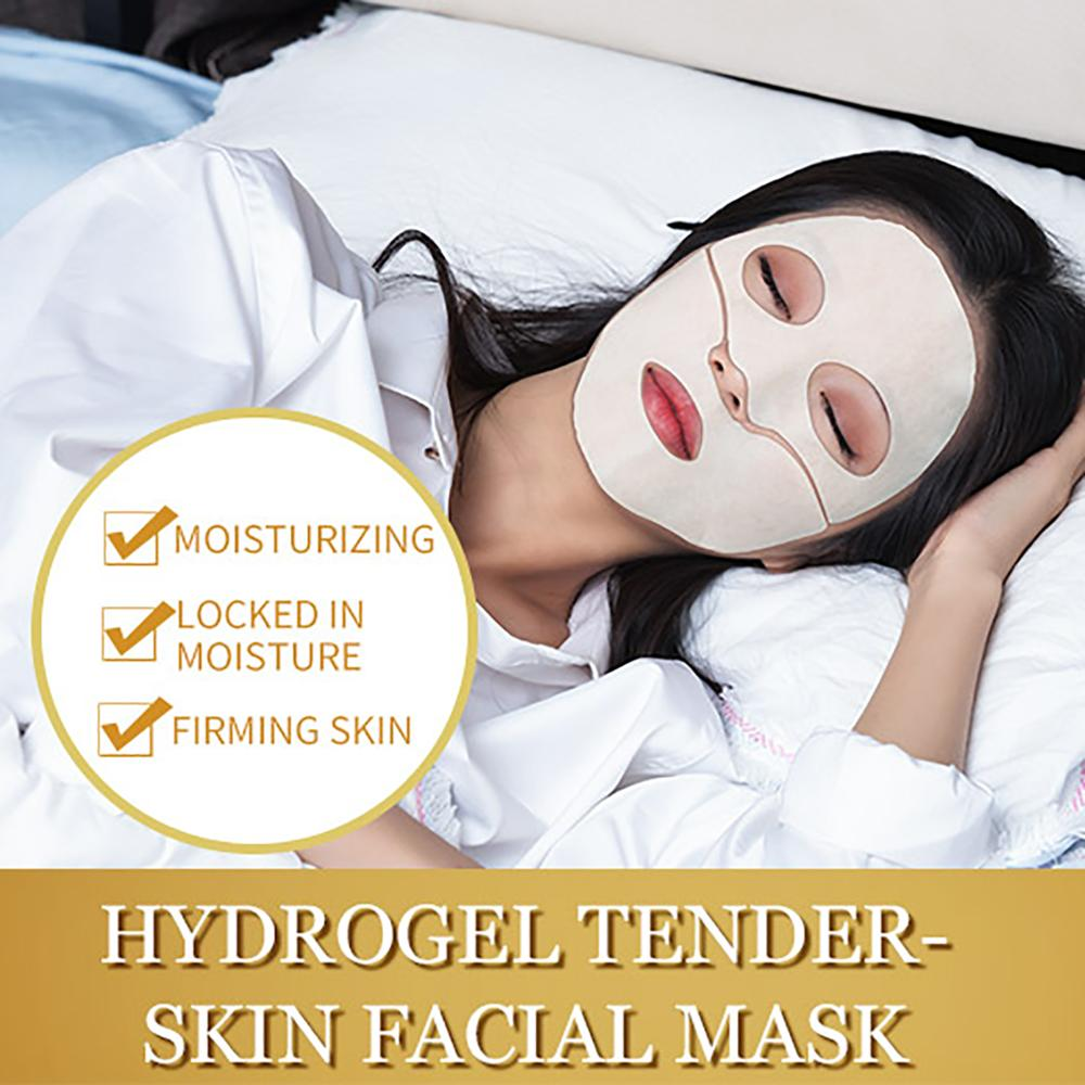 ILISYA Anti-Wrinkle Facial Mask Anti-Ageing Hydrogel Tender-Skin Face Mask With Hydrating Prevent Wrinkles