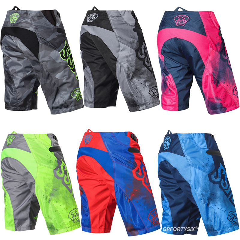 SSPEC Off-road Riding Motorcycle Shorts MTB BMX Mountain Bike Racing Downhill Cycling Shorts Dirt Bike Riding Shorts Men Women