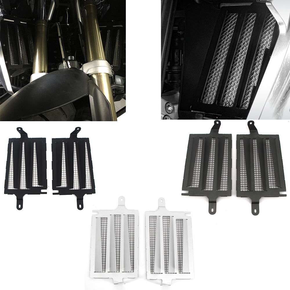 Motorcycle Accessories Radiator Guard Protection Grille Grill Cover Protector For BMW R1200GS R1250GS Adv LC R1200 GS LC 2019-13