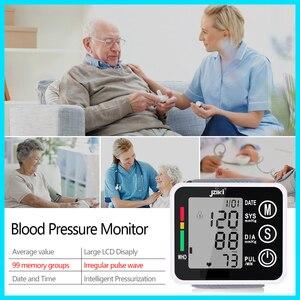 Image 3 - Ev sağlık tansiyon aleti kan basıncı ölçer monitör kalp hızı darbe taşınabilir akıllı kan basıncı ölçer JZK002R