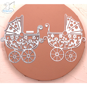 Bunnymoon 2020 New Arrival Baby chair Stencil Metal Cutting Dies For Scrapbooking Practice Hands-on DIY Album Card Craft Decorat