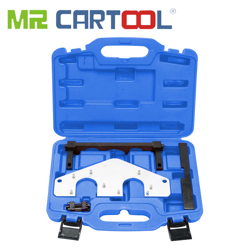 MR CARTOOL Automotive Engine Camshaft Crankshaft  Alignment Timing Chain Tool Kit For Mercedes Benz AMG E63 M156 M159