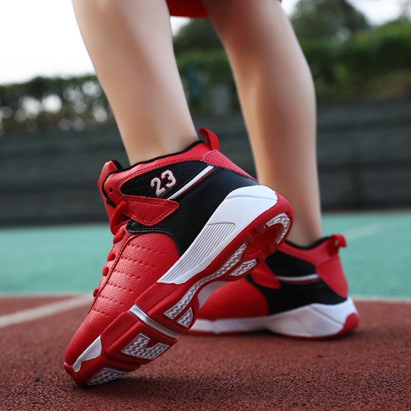 madera algun lado masa  2020 New Fashion Boy High top Jordan Basketball Shoes Kid's Cushion Light Basketball  Sneakers Anti skid Breathable Jordan Shoes|Basketball Shoes| - AliExpress