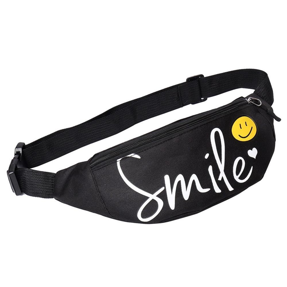 Casual Men Waist Bags Women Shoulder Bag Pouch Travel Canvas Belt Bag Fashion Unisex Waist Pack Women Fanny Pack