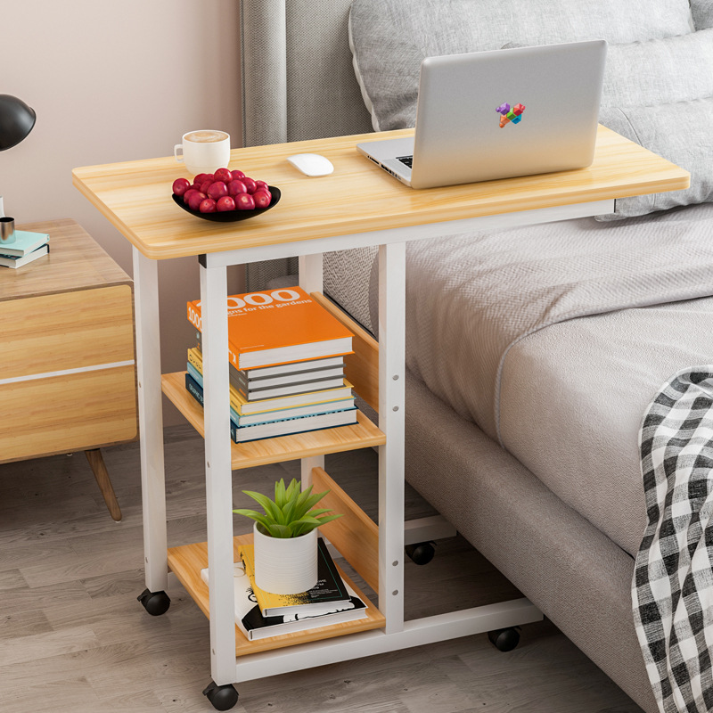 Bedside Laptop Desk Adjustable Height Simple Folding Small Table Simple Desk For Desktop Beds Bed Table Standing Desk