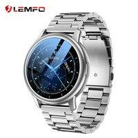 LEMFO-reloj inteligente LF28 IP68 para hombre, pulsera de Fitness con correa adicional, resistente al agua, BT5.0, para Android e IOS, 2021