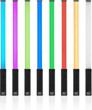 Handheld Photography selfie studio Light photo Portable LED Video Light Wand RGB 12 Brightness Levels Colorful Stick 3000K-5750K