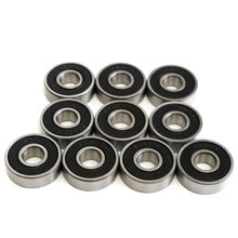 10 Pcs ABEC-5 608 2RS Lager 8*22*7 Mm Skateboard Wielen Lagers Miniatuur Skate Roller 608-2RS 608 rs(China)