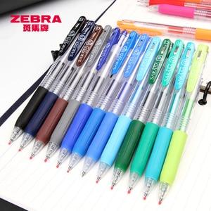 Image 5 - Pacote de 20 cores sortidas caneta japão zebra sarasa jj15 suco cor gel clipe canetas marcador de cor caneta esferográfica 0.5mm 20 cores