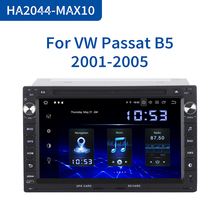 Dasaita 2 Din Android 10.0 Auto Dvd Raio Voor Vw Passat(MK5) jetta Bora/Polo(MK3,4) Golf(MK4) Citi Golf,Chico Sharan Transporter