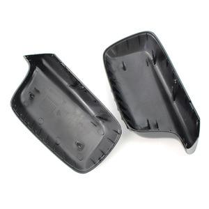 Image 3 - For BMW E46 E65 E66 745i 750i Mirror Cover 51167074236+51167074235 Mirror Cover Protable High Quality Newest Useful