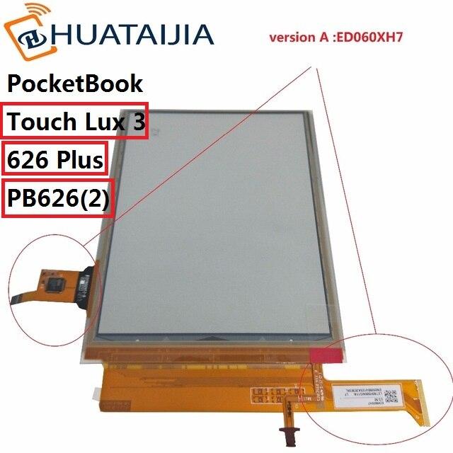 Écran lcd et tactile de 6 pouces avec rétro-éclairage pour PocketBook touch Lux 3 626 Plus 626 + 2GEN PB626 (2)-affichage matriciel du lecteur de D-WW - 2
