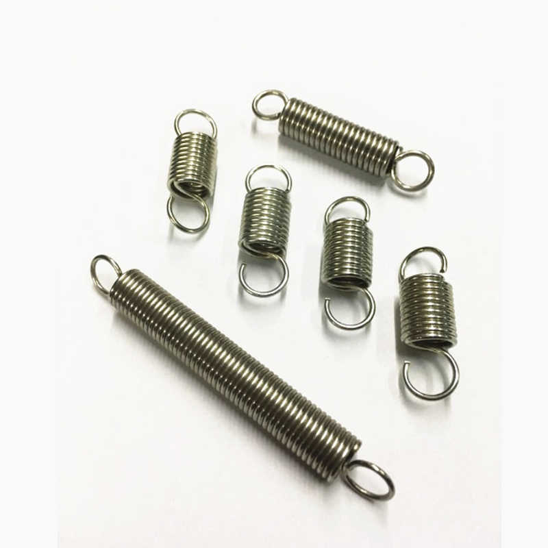 With Hook Extension Tension Spring Wire Dia 1.4mm Various Sizes Springs Steel