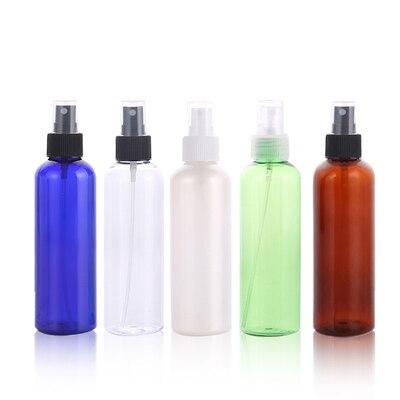 200ml X50 mist spray reizen pomp PET fles voor cosmetische verpakking, 7 oz plastic lege flessen voor vloeibare geneeskunde 200cc-in Hervulbare Flessen van Schoonheid op  Groep 1