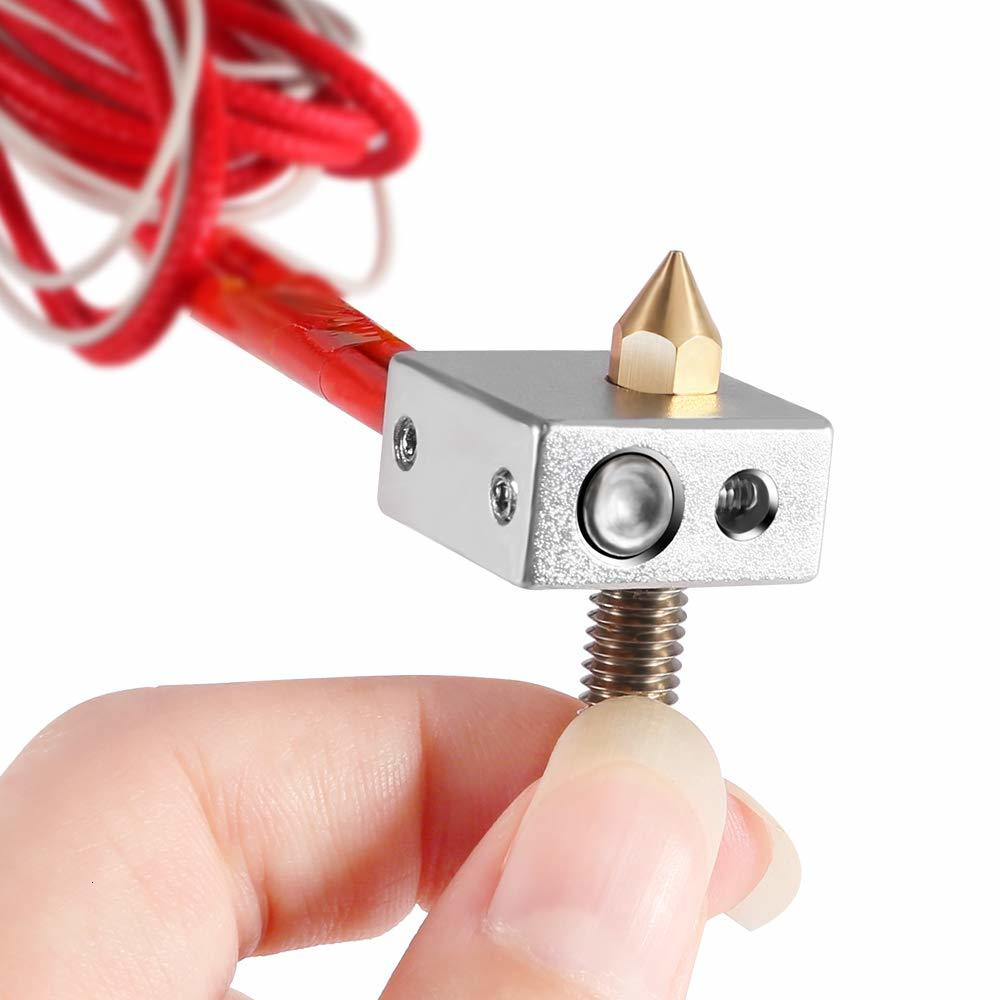 Heater Block Assembled Extruder Hot End for Anet A2 A8  1.75mm 0.4mm Nozzle