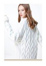 Apenas outono inverno feminino solto fit cor pura suéter cardigan | 11933b507