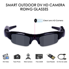 3 in 1 Digital Camera Cycling Eyewear UV400 Cycling Sunglasses Men HD Glasses Ey