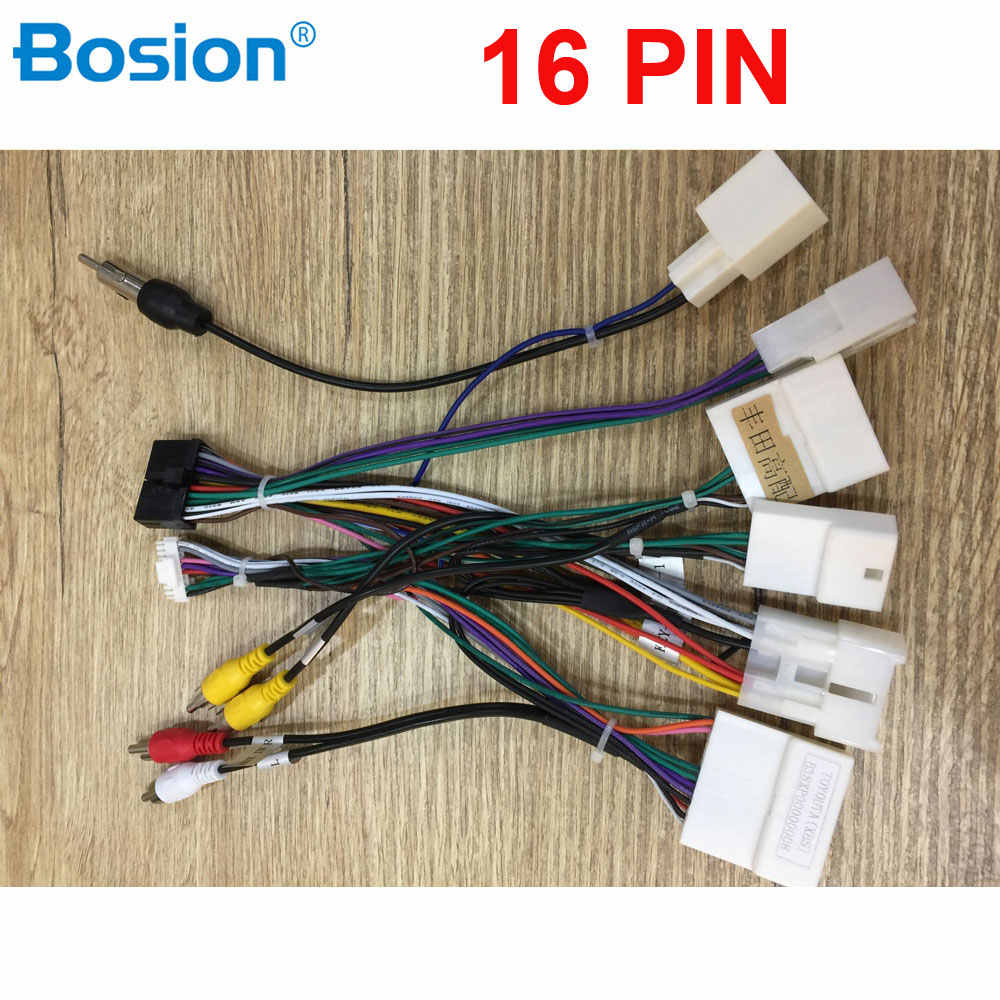 20 Pin Car Iso Radio Wire Wiring Harness Adapter For