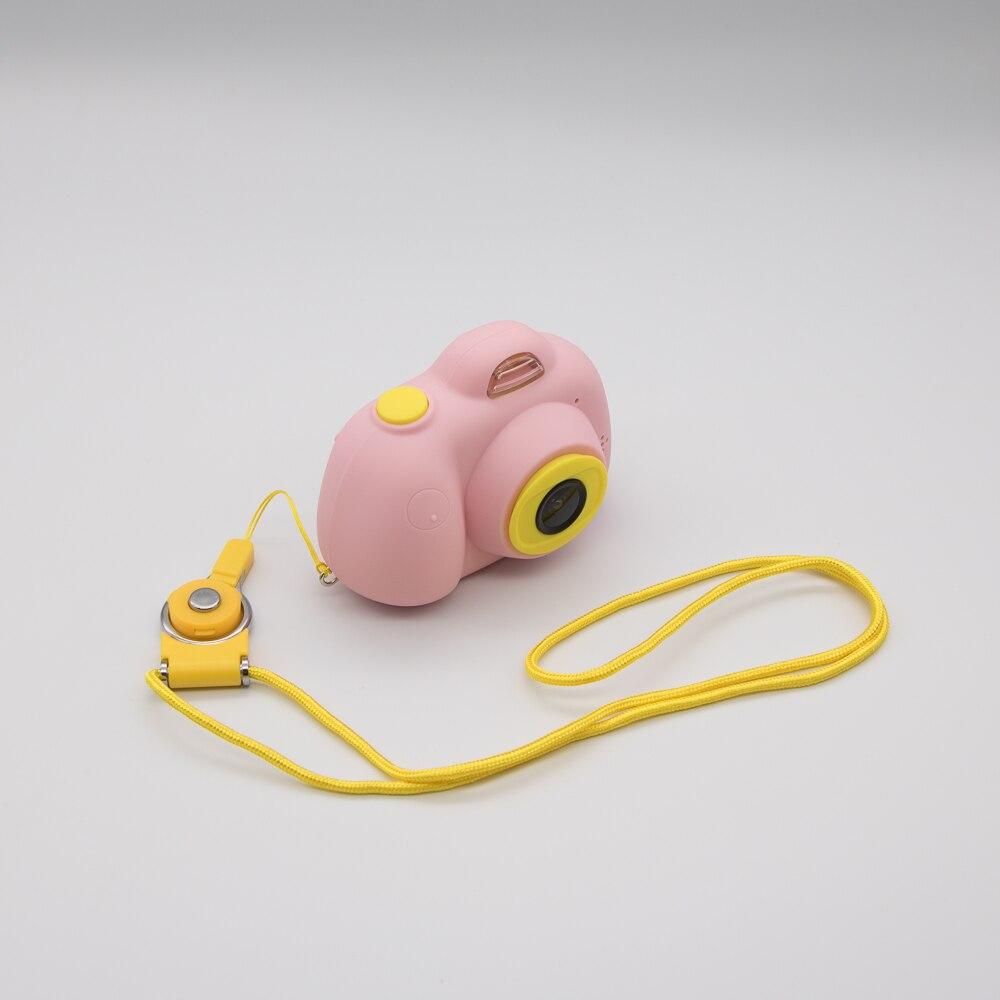 Kids Camera Toddler Toys 18 Million Pixs Digital IPS Screen TF Card Extension Dual Lens Multi Languages Educational Toys