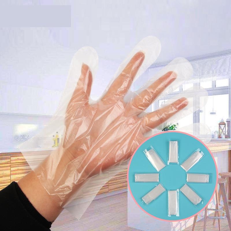1000/2000pcs Plastic Gloves Transparent Disposable Gloves For Restaurant Kitchen BBQ Eco-friendly Food Fruit Vegetable Gloves