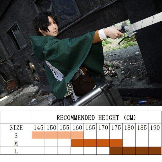 Aot Cosplay Japanese Hoodie Attack on Titan Cloak Shingeki no Kyojin Scouting Legion Cosplay Costume anime cosplay green Cape me 1