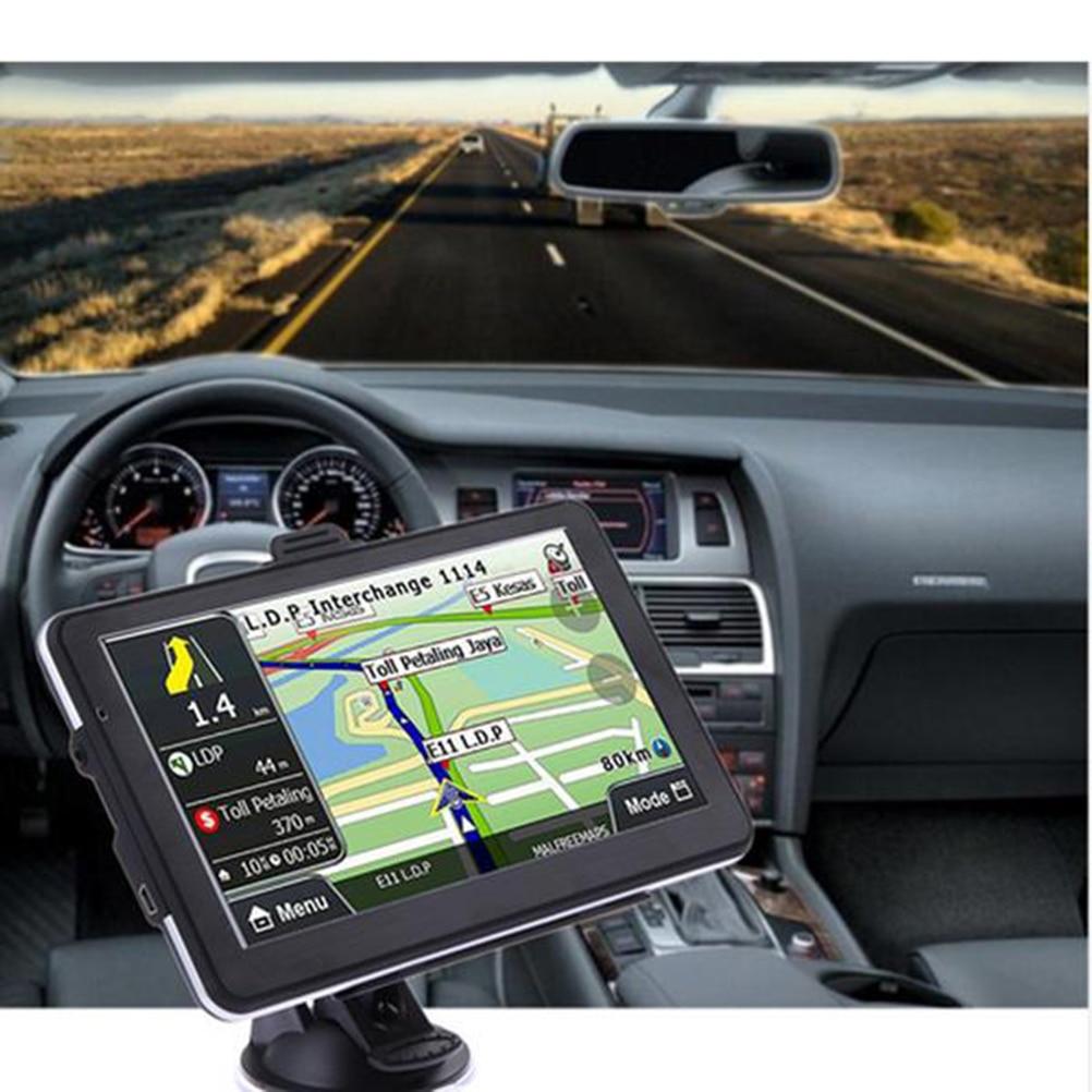 7 inch 8GB Car Truck HGV GPS Sat Nav Navigation Multi-media Navigator with Maps
