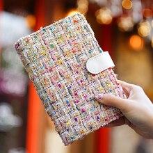 2019 japonais Kawaii Agenda quotidien organisateur Agenda de base grille balle Journal Journal calendrier recharge cahier couverture pour A5 A6