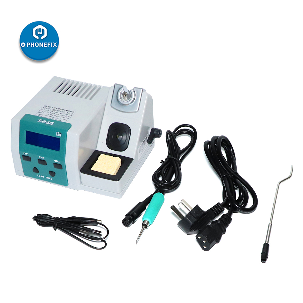 Electric JBC Soldering Kit Soldering Heating Iron Power Universal Free 2S Station Lead T26 Rapid Heating 80W System Handle SUGON