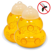 New Creative 2pack Wasp gourd shape Trap Hornets Yellow Jackets Wasp Repellent Hornet Trap Bee Catcher hot 2020(China)