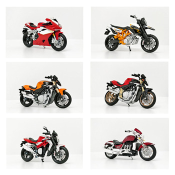 Bburago 1/18 1:18 scale Triumph  MV Agusta KTM Ducati Diecast Motorcycle Motorbike Display Model Children Toy For Boys maisto 1 12 ktm 1290 super duke superduke r motorcycle motorbike diecast display model toy for kids boys girls
